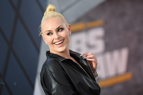 """US former alpine ski racer Lindsey Vonn attends the world premiere of """"Fast & Furious presents Hobbs & Shaw"""