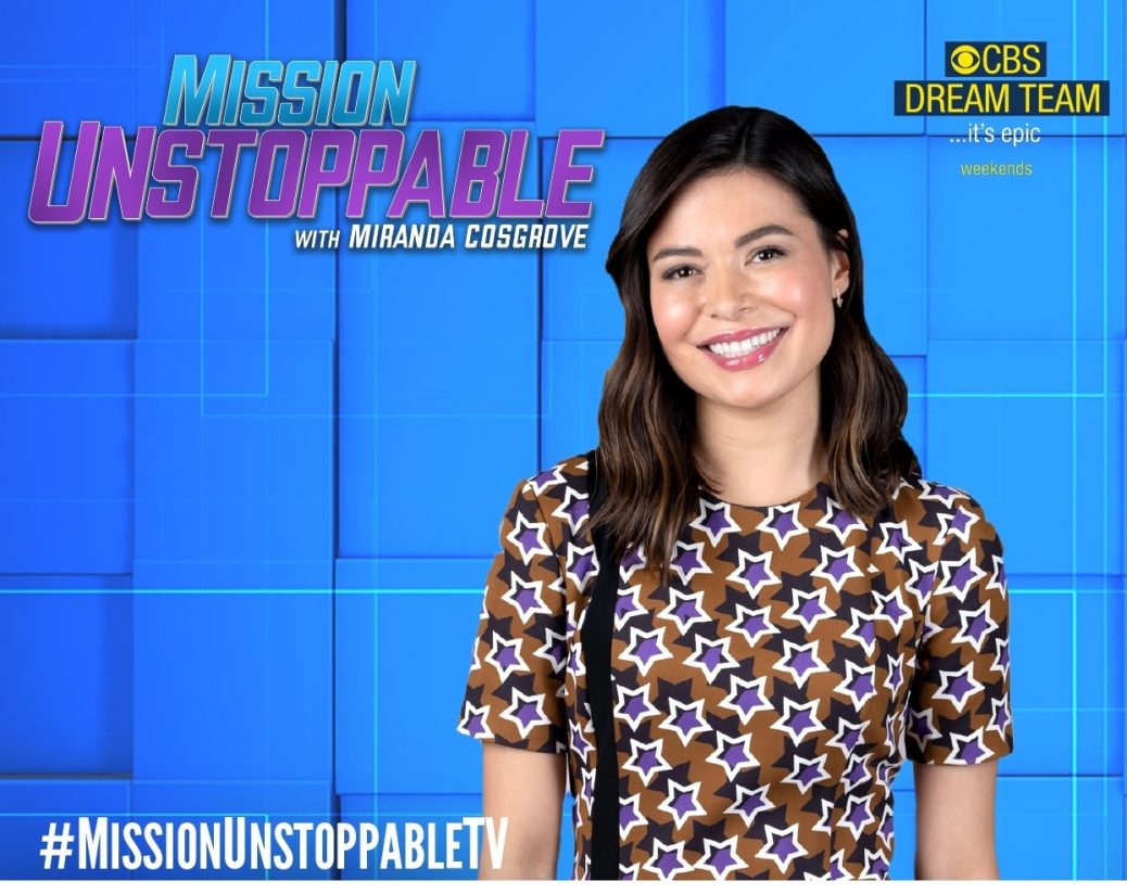 Miranda Cosgrove pictured from series Mission Unstoppable