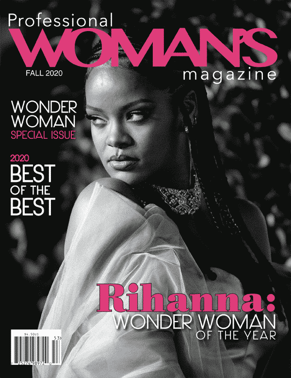 Newest Rihanna Cover for Professional Woman's Magazine