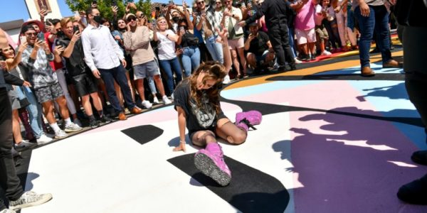 """Lady Gaga at declaration of """"Born This Way Day"""" in West Hollywood"""