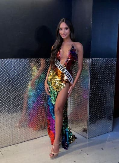 Kataluna Enriquez, who was crowned Miss Nevada USA on Sunday, will become the first openly transgender woman to compete in the Miss USA pageant.
