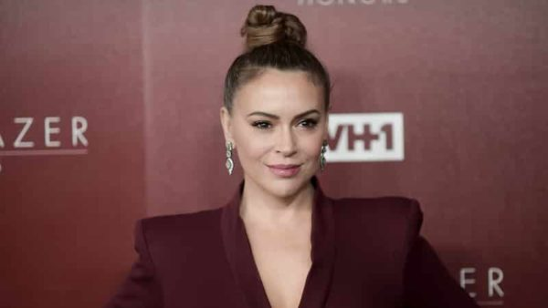 Alyssa Milano says she might challenge California Rep. Tom McClintock at some point.