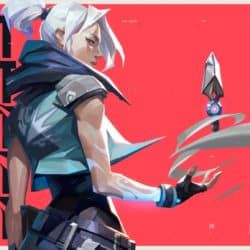 Riot games illustration of new female video game character