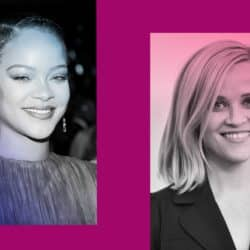 Rihanna and Reese Witherspoon
